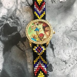 Accessories - Frida Kahlo beaded watch